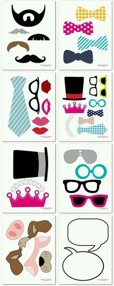 New baby shower diy photo booth free printables ideas Party Props, Diy Party, Party Printables, Free Printables, Decoration Creche, Cumpleaños Diy, Photo Boots, Silvester Party, Ideias Diy
