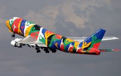 South African Airways Boeing B747-312 (Ndizani)