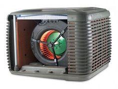 Climatizadores evaporativos centralizados para uso doméstico, una alternativa al aire acondicionado