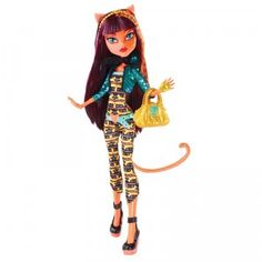 Monster High Freaky Fusions Cleolei from Mattel
