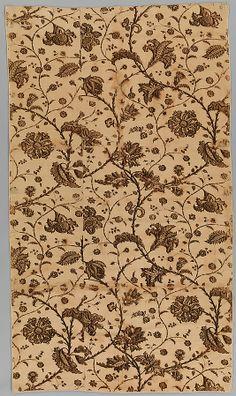 Date:     ca. 1780 Culture:     British Medium:     Cotton