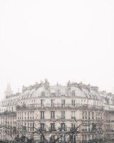 Snowfall in Paris   The French Kiosk