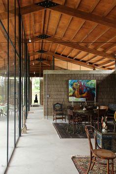 Image 1 of 23 from gallery of Lienzo de Barro House / Chaquiñán. Photograph by Jerónimo Zúñiga