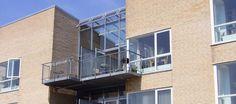 The Balcony Houses :: Henning Larsen Architects