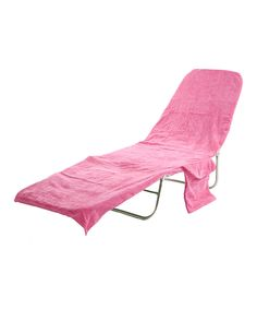Love the idea, not the color ---  Take a look at this Carmine Pink Lounge Cover on zulily today!