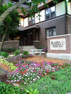 My beautiful house, Kappa Alpha Theta, Gamma Pi <3 ISU!