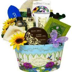 Art of Appreciation Gift Baskets Garden Delights Green Tea Spa Bath and Body Set $40.37