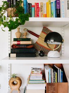 Entrepreneur Amira El-Gawly's apartment is surrounded by trees and full of plants — 35 of them, to be exact. Mid Century Rug, Mid Century Decor, Washington Dc, London Apartment, Detroit Apartment, Inside Garden, Bookcase Styling, Bench With Storage, Book Storage