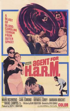 Agent For Harm movie poster