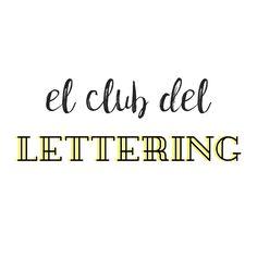 Plantillas para practicar lettering
