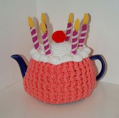 Tea Cozy Birthday Cake