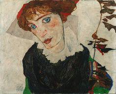 Wally Neuzil, par Egon Schiele ══════════════════════  BIJOUX  DE GABY-FEERIE   ☞ http://gabyfeeriefr.tumblr.com/ ✏✏✏✏✏✏✏✏✏✏✏✏✏✏✏✏ ARTS ET PEINTURES - ARTS AND PAINTINGS  ☞ https://fr.pinterest.com/JeanfbJf/artistes-peintres-painters/ ══════════════════════