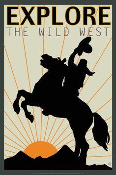 Explore the Wild West