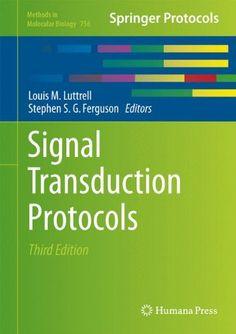 Signal Transduction Protocols
