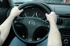 Ways to Grip a Steering Wheel - Ten and two