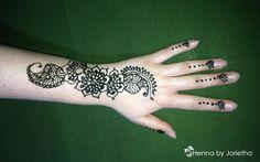 Henna By Jorietha  Henna designs on hands, feet, wrist, arm, neck, back etc  Facebook: www.facebook.com/hennabyjorietha Twitter@hennabyjorietha Website:www.jorietha.com  E-mail:henna@jorietha.com