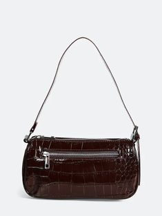 Brun Jennifer PU handbag   Dame   Accessories - Lommebøker på BikBok.com Summer Looks, Bags, Accessories, Fashion, Handbags, Moda, Summer Fashions, Fashion Styles, Summer Outfits