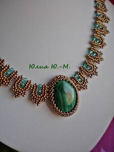 Ru is, photo hosting without registration, and fast image hosting. Seed Bead Necklace, Seed Bead Jewelry, Bead Jewellery, Jewelery, Beaded Jewelry Patterns, Beads And Wire, Swarovski, Handmade Jewelry, Jewelry Design