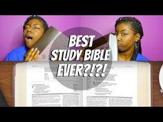 THIS STUDY BIBLE SAVED MY LIFE!   #FaithTalk - YouTube