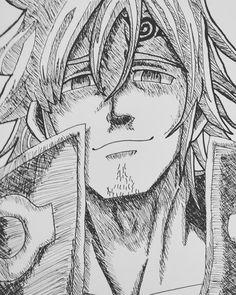 Anime Character Drawing, Manga Drawing, Manga Art, Otaku Anime, Anime Naruto, Manga Anime, Seven Deadly Sins Anime, 7 Deadly Sins, Seven Deady Sins