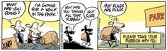 Swamp Cartoons: Walk in the Park Comic