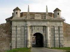 Palmanova Gate, Italy - one of several fort type gates entering the town of Palmanova