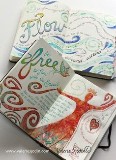 Flowing into the freedom of a new year. My everyday journal. www.valeriesjodin.com