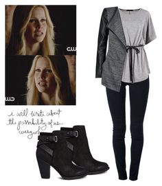 """""""Rebekah Mikaelson - the originals / tvd / the vampire diaries"""" by shadyannon ❤ liked on Polyvore featuring moda, STELLA McCARTNEY, Boohoo, ONLY e ALDO"""