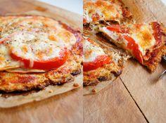 Wilk Syty: Pizza ze spodem z kalafiora.