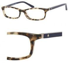 91986eba84e KATE SPADE Eyeglasses AGNETA 01H6 Camel Tortoise Navy 48MM