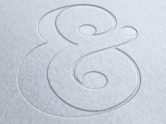 letterpress - Ampersand by Media Novak Typography Images, Typography Love, Typography Letters, Typography Inspiration, Graphic Design Typography, Design Inspiration, Types Of Lettering, Hand Lettering, Print Design