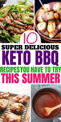 10 Delicious Keto Recipes You Cannot Afford To Miss This Summer! Ketogenic Recipes, Paleo Recipes, Low Carb Recipes, Ketogenic Diet, Ketogenic Lifestyle, Keto Foods, Grilling Recipes, Easy Recipes, Healthy Lifestyle