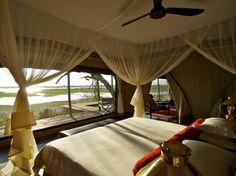 Selinda Game Reserve, Botswana -- Zarafa Camp