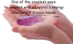 Connect to crystals