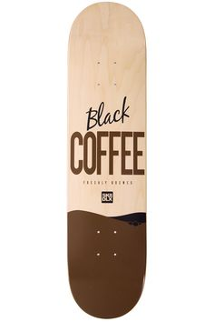 "SK8DLX Coffee Series 7.75"" Deck"