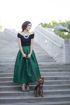 J Petite: Emerald Wedding Attire with Chicwish