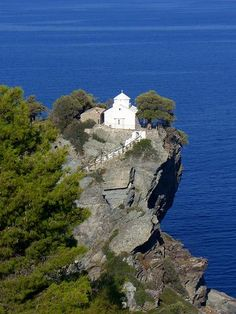 Αgios Ioannis church in Skopelos. Breathtaking...