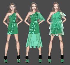 Auriele (desenhos de Moda): Destaques