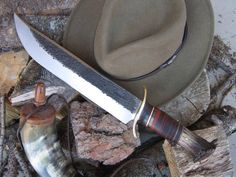 There is just something grand about a big old school hunter or fighter that stirs our souls. Behring Made Knives makes beautiful custom (completely handmade) hand forged scagel style knives using only the best grade steel and materials available.  Made in the USA.