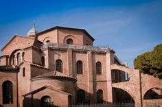 "The Church of San Vitale, styled an ""ecclesiastical basilica"" in the Roman Catholic Church, though it is not of architectural basilica form, is a church in Ravenna, Italy, one of the most important examples of early Christian Byzantine Art and architecture in western Europe. The building is one of eight Ravenna structures inscribed on the UNESCO World Heritage List."