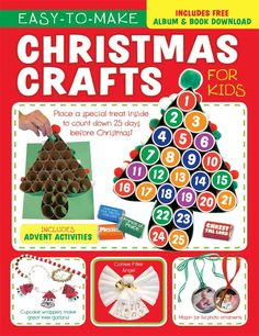 Easy-to-make Christmas Crafts for Kids                                                                                                                                                     More