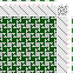 Hand Weaving Draft: Page 159, Figure 7, Textile Design and Color, William Watson, Longmans, Green & Co., 8S, 8T - Handweaving.net Hand Weaving and Draft Archive