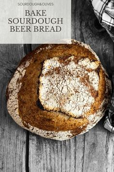 Give your next bread some amazing flavor with your favorite beer. This sourdough beer bread recipe will give you the information you need.