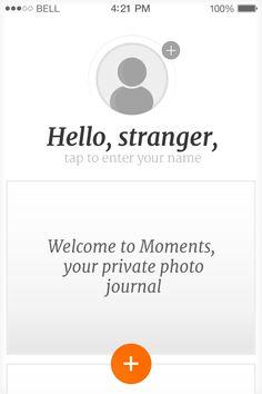 Moments app (http://www.feelmoments.com)