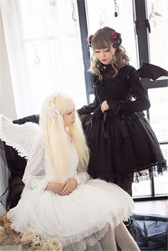 #LolitaUpdate: Fairy Tale Mysterise [-✙❤-Angels & Demons-✙❤-] Lolita JSK