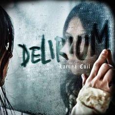 """L'album dei #LacunaCoil intitolato """"Delirium"""" in formato jewelcase."""
