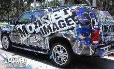 About, large format printing, orange county Monster Image Wraps, Large Format Printing, Car Stickers, Orange County, Cadillac, Truck, Digital, Vehicles, Prints
