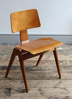 Hillestak chairs designed in 1950 by Robin Day for Hille.