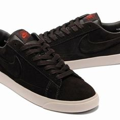 Men Nike Blazer Low Suede VT Brown UK Online Clearance Sale