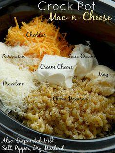 Crock Pot Mac-n-Cheese